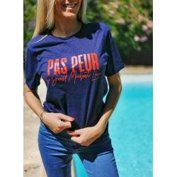 T-Shirt PAS PEUR DU GRAND...