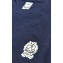 sweat-shirt col rond coton...